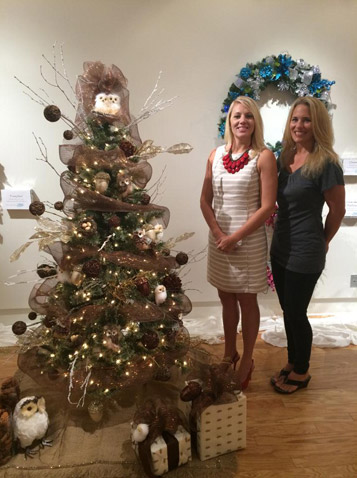Festival of Trees with Kelly Johnson and Gina Golina