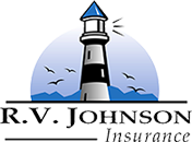 R.V. Johnson Insurance Logo